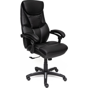Кресло TetChair CAMBRIDGE кож/зам/ткань, черный/черный 36-6/11