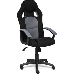 Кресло TetChair DRIVER ткань черный/серый 2603/12