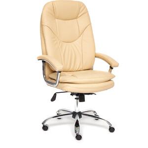 Кресло TetChair SOFTY LUX кож/зам бежевый 36-34
