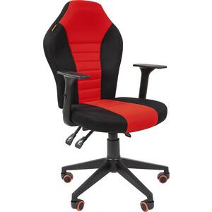 Офисноекресло Chairman Game 8 tw черный/красный компьютерное кресло chairman game 8 черно синий