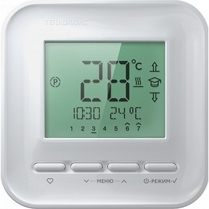Терморегулятор Теплолюкс 520 белый