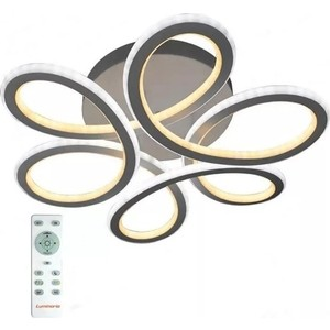 цены Управляемый светодиодный светильник Estares VOLNA DOUBLE 170W 6C-520/237-WHITE/OPAL-220-IP20