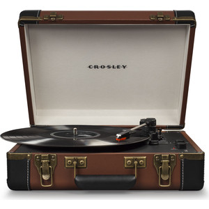 Фото - Виниловый проигрыватель CROSLEY EXECUTIVE PORTABLE [CR6019D-BR] theodore grossman the portable mba in finance and accounting