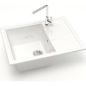 Кухонная мойка Marrbaxx Анастасия 55 белый лед (Z150Q001)