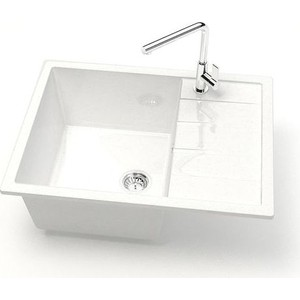 Кухонная мойка Marrbaxx Катрин 65 белый лед (Z151Q001)