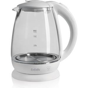 Чайник электрический BBK EK1725G, белый цена и фото