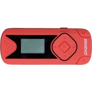 MP3 плеер Digma R3 8Gb red цена и фото