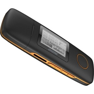 MP3 плеер Digma U3 4Gb black/orange