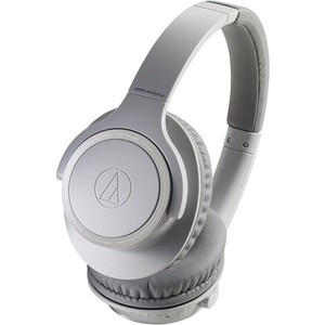 Наушники Audio-Technica ATH-SR30BT grey наушники audio technica ath s200bt grey blue