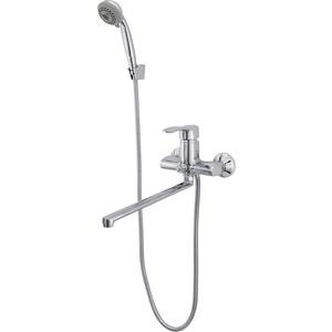 Смеситель для ванны Raiber Zoom с душем, хром (R4002)