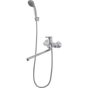 Смеситель для ванны Raiber Primo с душем, хром (R5002)