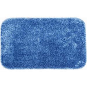 Коврик для ванной Wasserkraft Wern Dark blue, полиамид и волокно Antron, 90х57 см, BM-2503