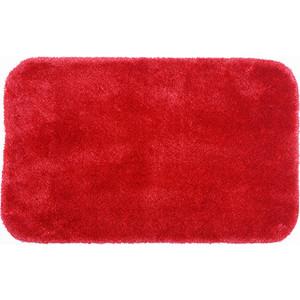 Коврик для ванной Wasserkraft Wern Red, полиамид и волокно Antron, 90х57 см, BM-2563