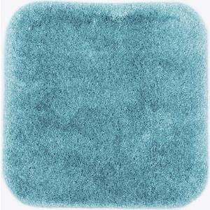Коврик для ванной Wasserkraft Wern Turquoise, полиамид и волокно Antron, 55х57 см, BM-2594