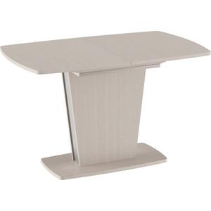 купить Стол обеденный ТриЯ Ливерпуль Тип 2 дуб белфорт/металлик дешево