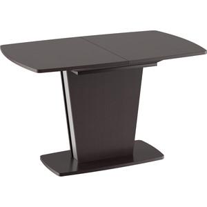 лучшая цена Стол обеденный ТриЯ Ливерпуль Тип 2 дуб миланский/металлик