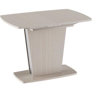 купить Стол обеденный ТриЯ Ливерпуль Тип 1 дуб белфорт/металлик дешево