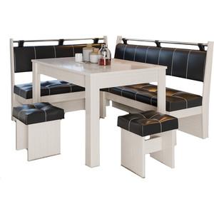 Кухонный уголок Это-мебель Остин дуб белфорд/браун