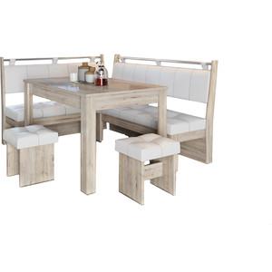 Кухонный уголок Это-мебель Остин дуб белфорд/светлый techlink m2lo светлый дуб