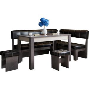 Кухонный уголок Это-мебель Валенсия венге/браун