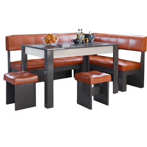Кухонный уголок Это-мебель Валенсия венге/персик