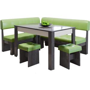 Кухонный уголок Это-мебель Валенсия венге/фисташка