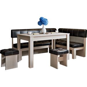 Кухонный уголок Это-мебель Валенсия дуб белфорд/браун