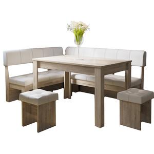 Кухонный уголок Это-мебель Валенсия дуб белфорд/светлый