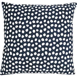 Чехол для подушки с принтом Funky dots, темно-серый 45х45 Tkano Cuts&Pieces (TK18-CC0012)