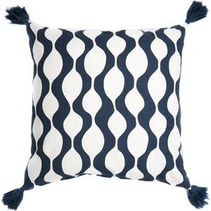 Чехол для подушки Traffic, серо-синего цвета 45х45 Tkano Cuts&Pieces (TK18-CC0008)