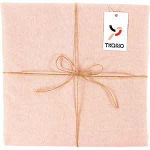 Скатерть на стол цвета пыльной розы 143х143 Tkano Essential (TK18-TC0015)