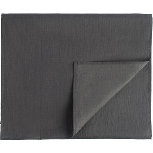 Дорожка на стол темно-серого цвета 45х150 Tkano Essential (TK18-TR0013) дорожка на стол tkano essential tk18 tr0012 с декоративной обработкой пыльная роза 45 x 150 см