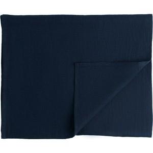 Дорожка на стол темно-синего цвета 45х150 Tkano Essential (TK18-TR0009) дорожка на стол tkano essential tk18 tr0012 с декоративной обработкой пыльная роза 45 x 150 см