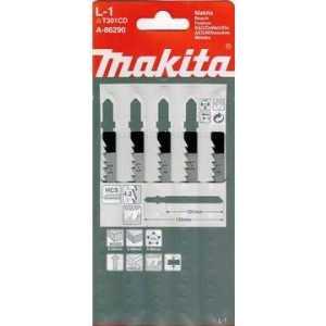Пилки для лобзика Makita 132мм 5шт (A-86290)
