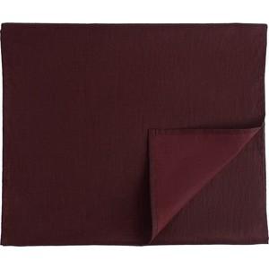Дорожка на стол бордового цвета 45х150 Tkano Essential (TK18-TR0010) дорожка на стол 45x150 ramish