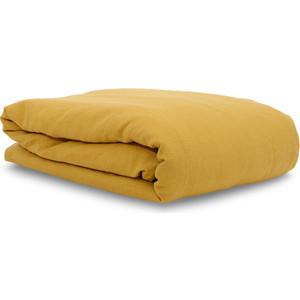 Пододеяльник горчичного цвета 200х200 Tkano Essential (TK18-LD0006) блузка горчичного цвета купить