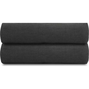 Простыня темно-серого цвета 240х270 Tkano Essential (TK18-LS0029)