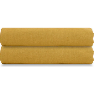 Простыня горчичного цвета 240х270 Tkano Essential (TK18-LS0027) цены