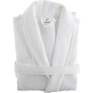 Халат банный белого цвета L/XL Tkano Essential (TK18-BR0008)
