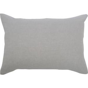 Наволочка серого цвета 50х70 Tkano Essential (TK18-LP0011)