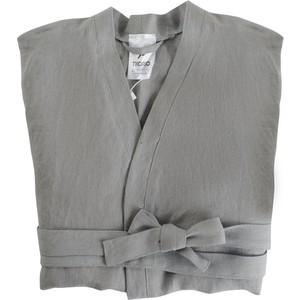 Халат серого цвета M Tkano Essential (TK18-BR0004)
