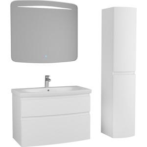 Мебель для ванной OWL 1975 Gotland 90, 2 ящика, белый лак