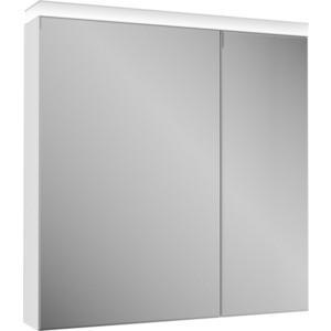 Зеркальный шкаф OWL 1975 Ragnar 80 с подсветкой (OW020400) зеркальный шкаф roca etna 80 с подсветкой 857304445 дуб верона