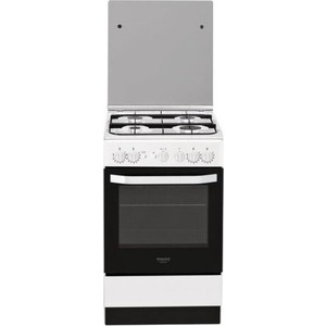 Газовая плита Hotpoint-Ariston HS5G1PMW/RU газовая плита hotpoint ariston hs5g1pmw ru