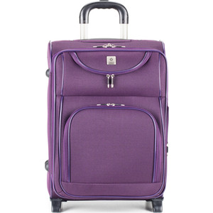 Чемодан 4 ROADS фиолетовый, 02WGI (21)
