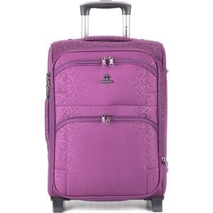 Чемодан 4 ROADS фиолетовый, 6101 (24)