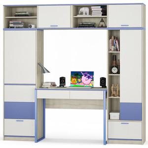 Комлект мебели Моби Гольф № 03 голубой металл