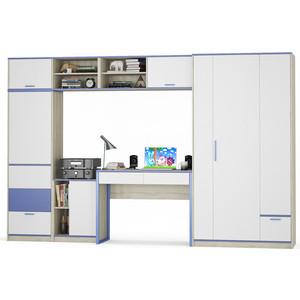 Комлект мебели Моби Гольф № 04 голубой металл