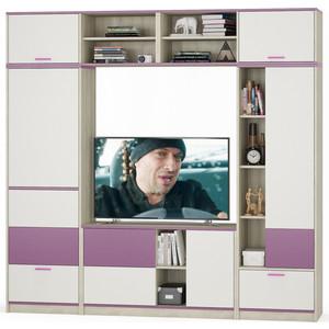 Комлект мебели Моби Гольф № 09 перламутр черешня