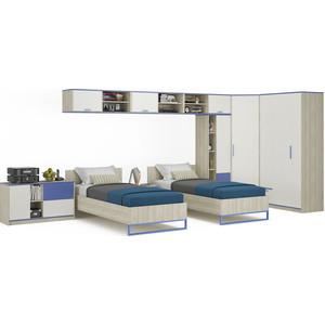 Комлект мебели Моби Гольф № 14 голубой металл